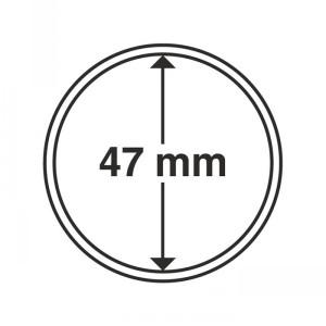 Капсула для монет CAPS 47 мм 10 штук (ПОД ЗАКАЗ)