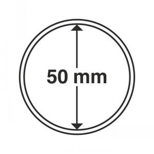 Капсула для монет CAPS 50 мм 10 штук (ПОД ЗАКАЗ)
