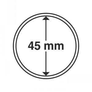 Капсула для монет CAPS 45 мм 10 штук (ПОД ЗАКАЗ)