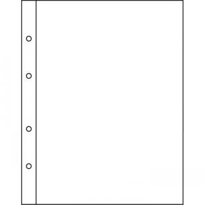 Лист-вкладыш NUMIS на одну большую банкноту 10 штук (ПОД ЗАКАЗ)