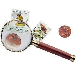 Лупа с ручкой ROSEWOOD 50 мм 3 кратная (ПОД ЗАКАЗ)