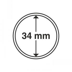 Капсула для монет CAPS 34 мм