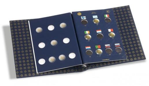 Два листа-вкладыша OPTIMA VISTA для 10 юбилейных монет евро (ПОД ЗАКАЗ)