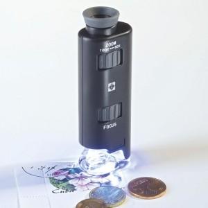 Микроскоп стереоскопический 60-100 кратный с подсветкой