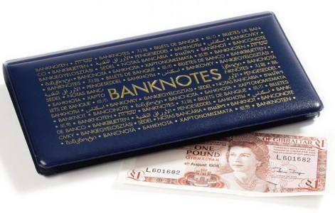 Карманный альбом ROUTE на 20 банкнот 182х92 мм