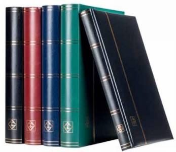 Кляссер COMFORT (64 черных страниц А4, обложка красная)