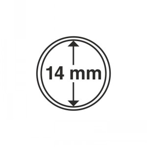 Капсула для монет CAPS 14 мм