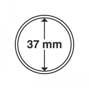 Капсула для монет CAPS 37 мм
