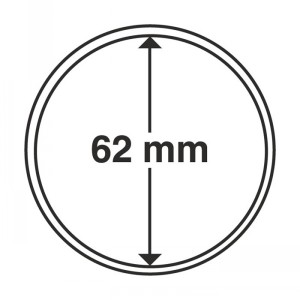 Капсула для монет CAPS 62 мм