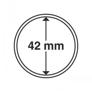 Капсула для монет CAPS 42 мм 10 штук (ПОД ЗАКАЗ)