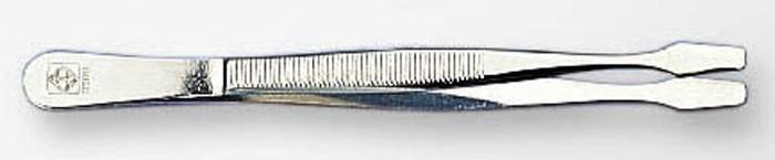 Пинцет прямой с лопаткой стандарт 12 см