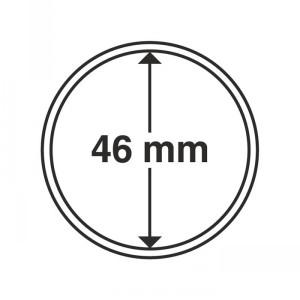 Капсула для монет CAPS 46 мм 10 штук (ПОД ЗАКАЗ)