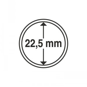 Капсула для монет CAPS 22,5 мм