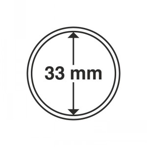 Капсула для монет CAPS 33 мм