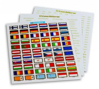 Набор флагов Евросоюза