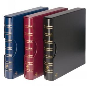 Папка-переплет MAXIMUM с футляром (синий) (ПОД ЗАКАЗ)