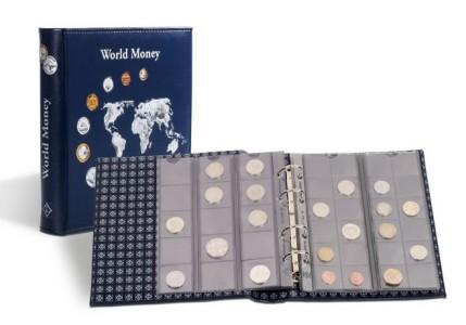 Альбом OPTIMA WORLD MONEY на 152 монеты (ПОД ЗАКАЗ)