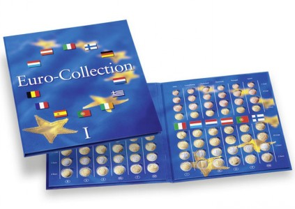 Альбом PRESSO для монет евро - том 1