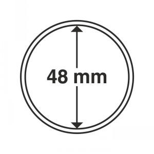 Капсула для монет CAPS 48 мм 10 штук (ПОД ЗАКАЗ)