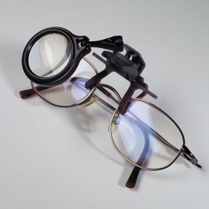 Лупа на очки 30 мм 5 кратная