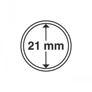 Капсула для монет CAPS 21 мм