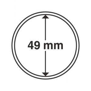 Капсула для монет CAPS 49 мм 10 штук (ПОД ЗАКАЗ)