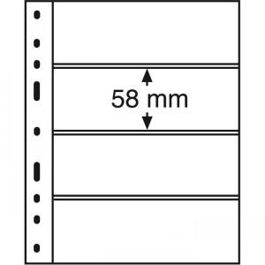 Лист-вкладыш OPTIMA 4S черный