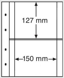 Лист-вкладыш OPTIMA XL 2C прозрачный 10 штук (ПОД ЗАКАЗ)