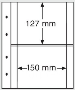 Лист-вкладыш OPTIMA XL 2C прозрачный (ПОД ЗАКАЗ)