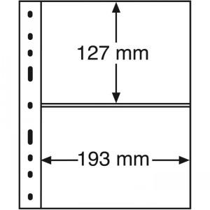 Лист-вкладыш OPTIMA XL 2S черный 10 штук (ПОД ЗАКАЗ)