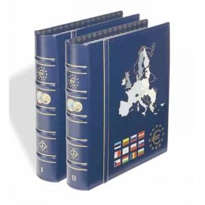 Альбомы OPTIMA VISTA для монет евро - два тома (ПОД ЗАКАЗ)