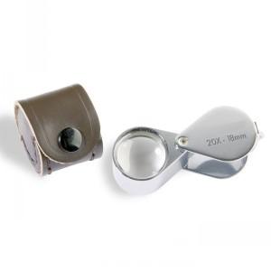 Лупа складная прецизионная 18 мм 20 кратная с футляром (ПОД ЗАКАЗ)
