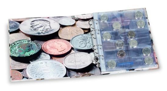Альбом OPTIMA COINS на 152 монеты (ПОД ЗАКАЗ)