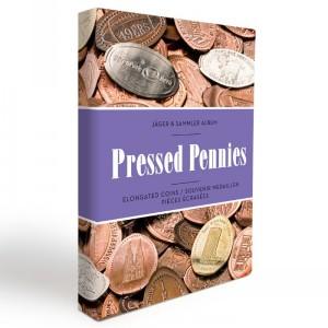 Карманный альбом PRESSED PENNIES на 48 монет до 33 мм (ПОД ЗАКАЗ)
