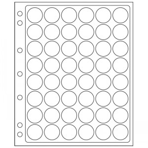 Лист-вкладыш GRANDE ENCAP 22-23 мм 48 ячеек