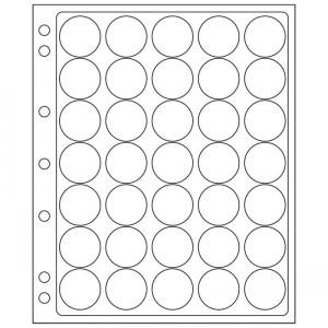 Лист-вкладыш GRANDE ENCAP 26-27 мм 35 ячеек