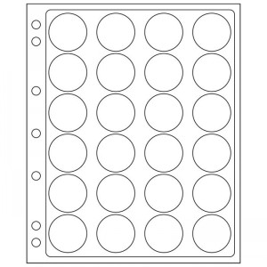 Лист-вкладыш GRANDE ENCAP 34-35 мм 24 ячейки