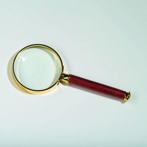 Лупа с ручкой ROSEWOOD 80 мм 2 кратная (ПОД ЗАКАЗ)