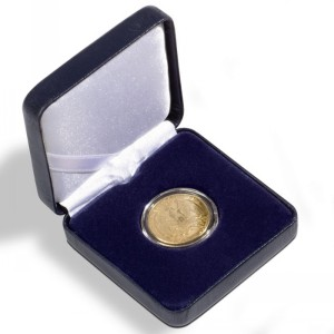 Футляр для монет NOBILE 26 мм синий (ПОД ЗАКАЗ)