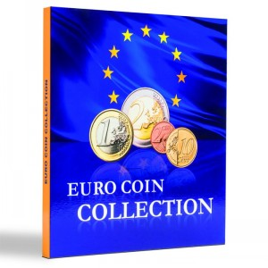 Альбом PRESSO для 26 наборов монет евро