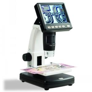 Микроскоп цифровой 10-500 кратный с ЖК-дисплеем