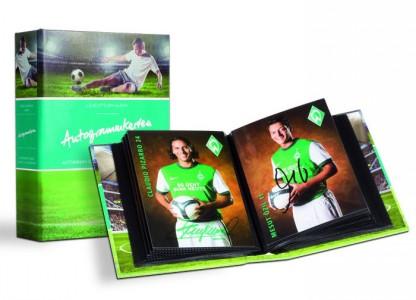 Альбом на 80 открыток с автографами 105х148 мм (ПОД ЗАКАЗ)