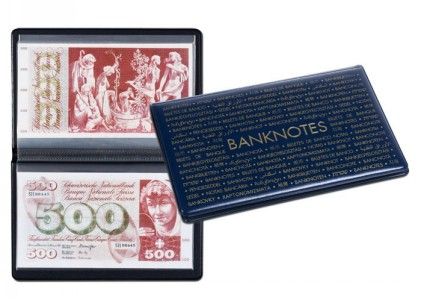 Карманный альбом ROUTE на 20 банкнот 210х125 мм