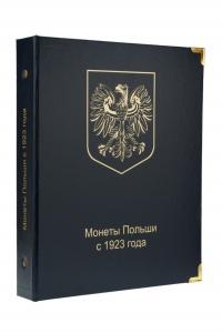 Альбом для монет Польши с 1923 года